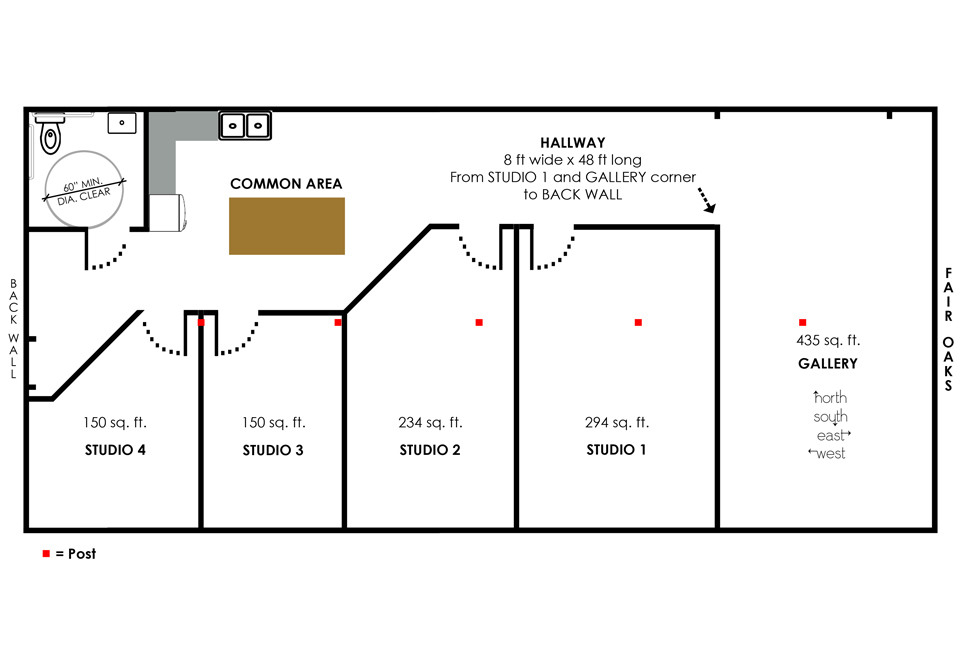 2599 Studio Spaces Layout w-o$